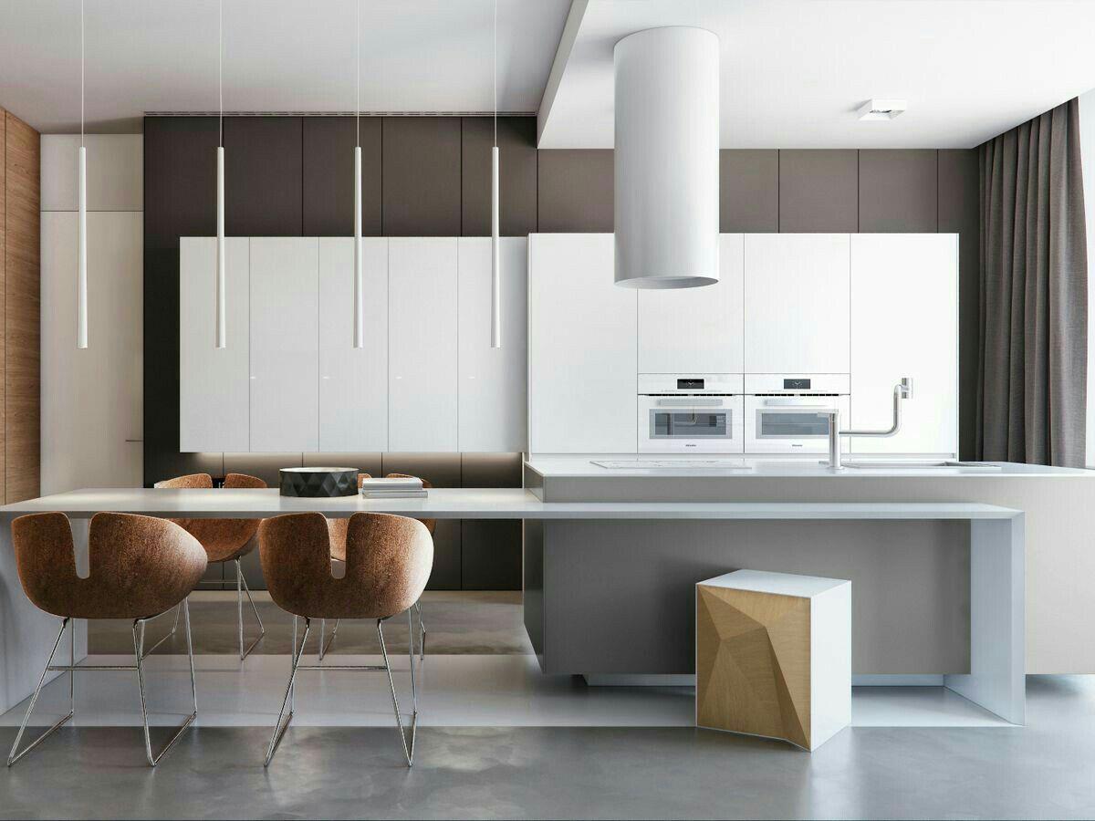 дизайн дневной и кухни фото другой версии