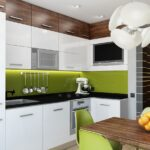 кухня зеленаяминимализм