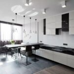 кухня минимализм квадратная