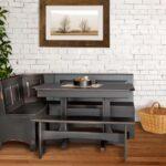 кухонный диван серый