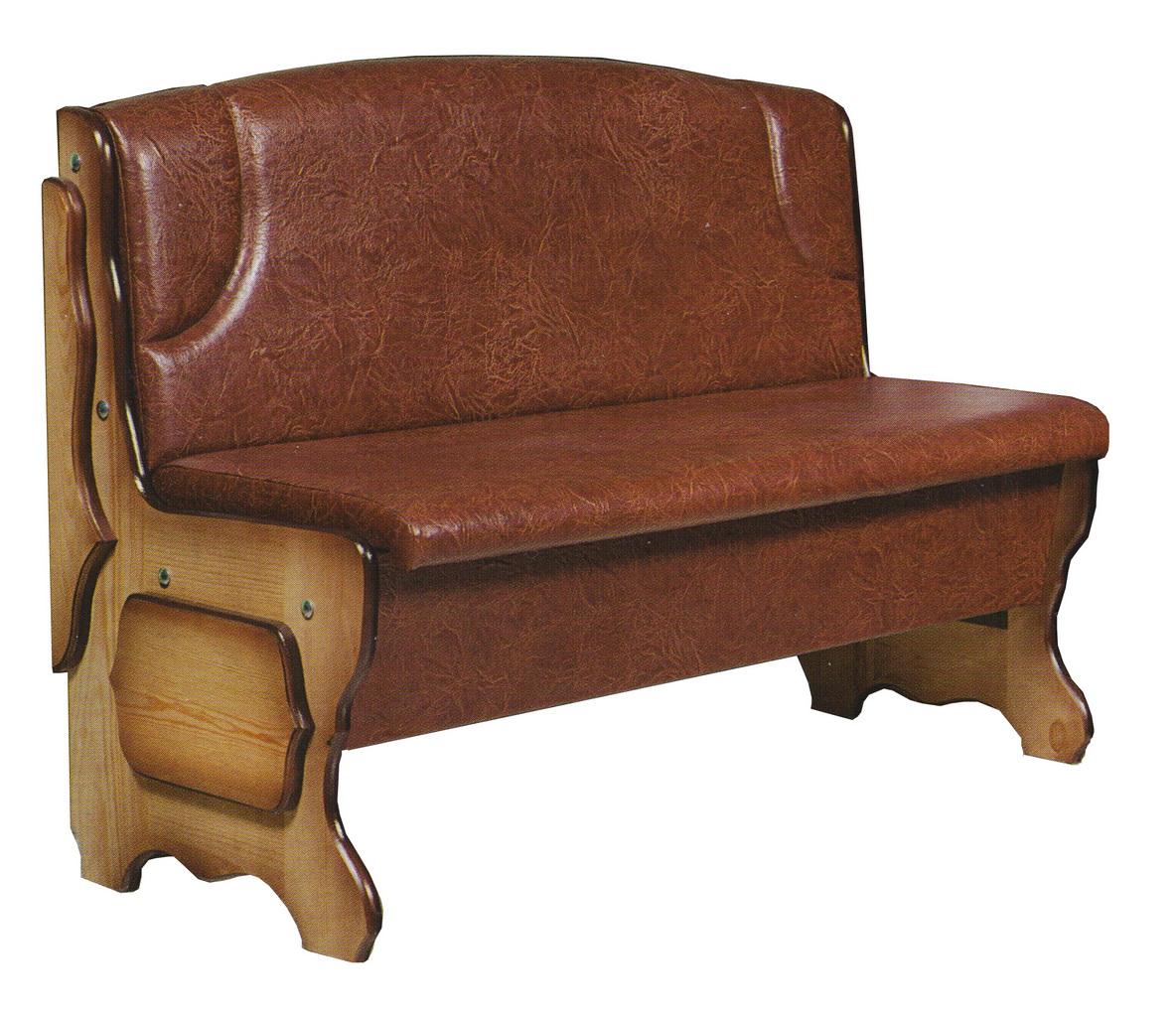 диван из натуральной кожи