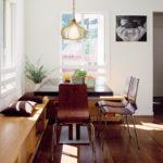 кухонный диван деревянный