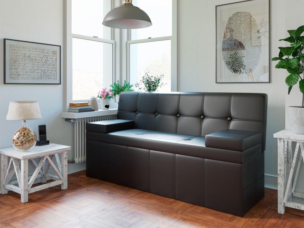 кухонный диван из кожзама