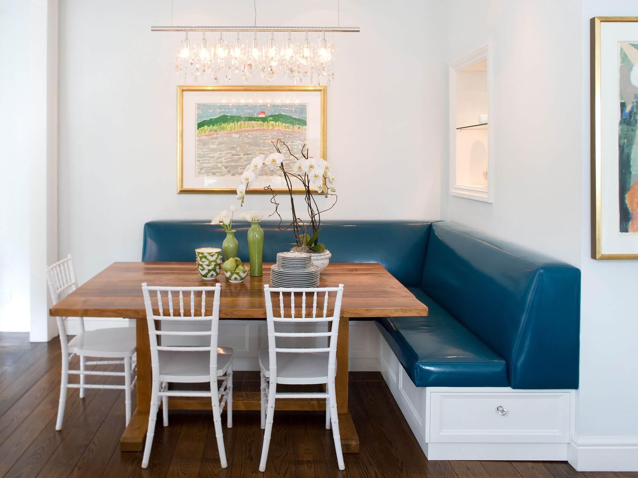 мягкая мебель на кухне