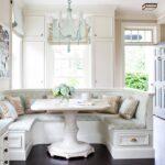 кухонный диван полукруглый