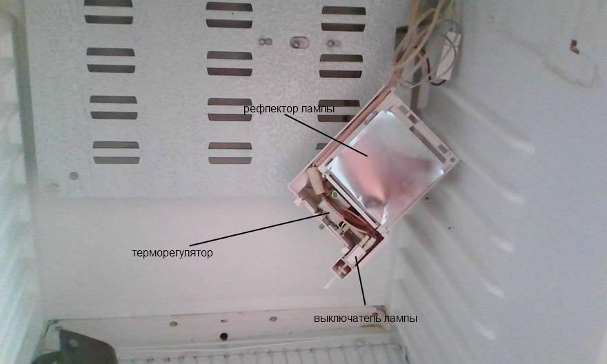 Месторасположение терморегулятора