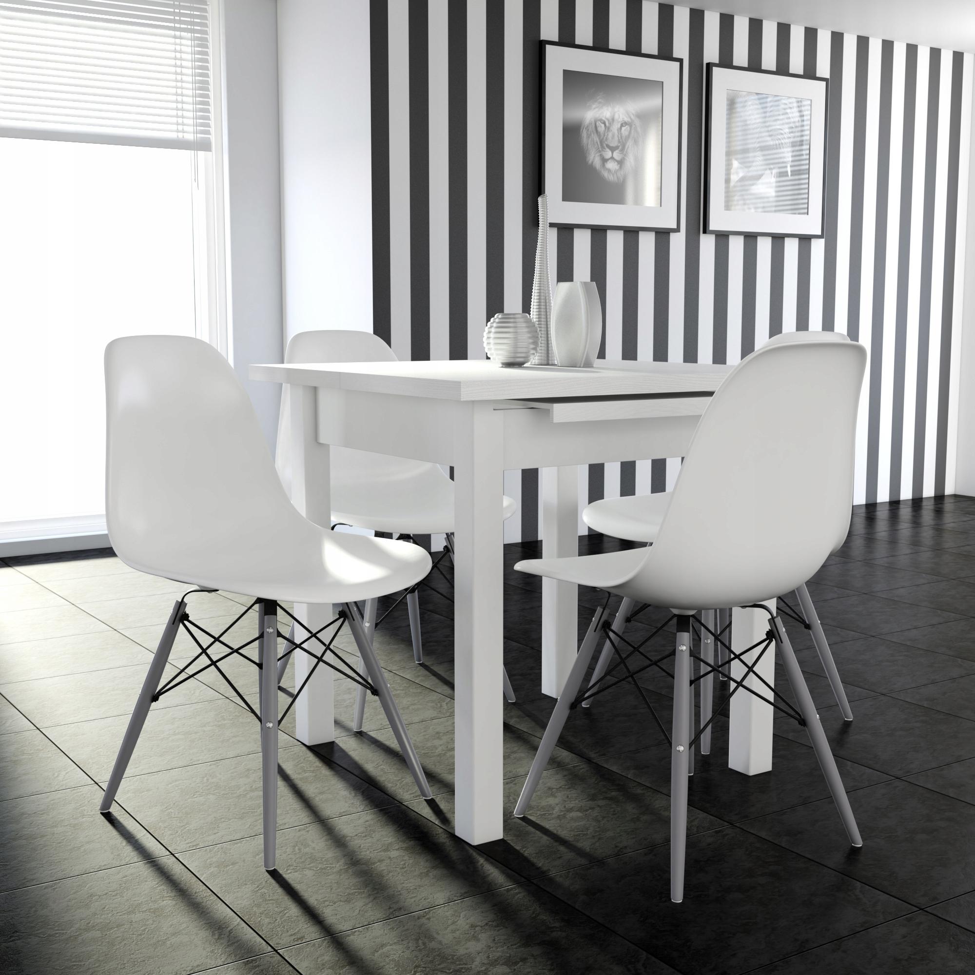 белые стулья икеа