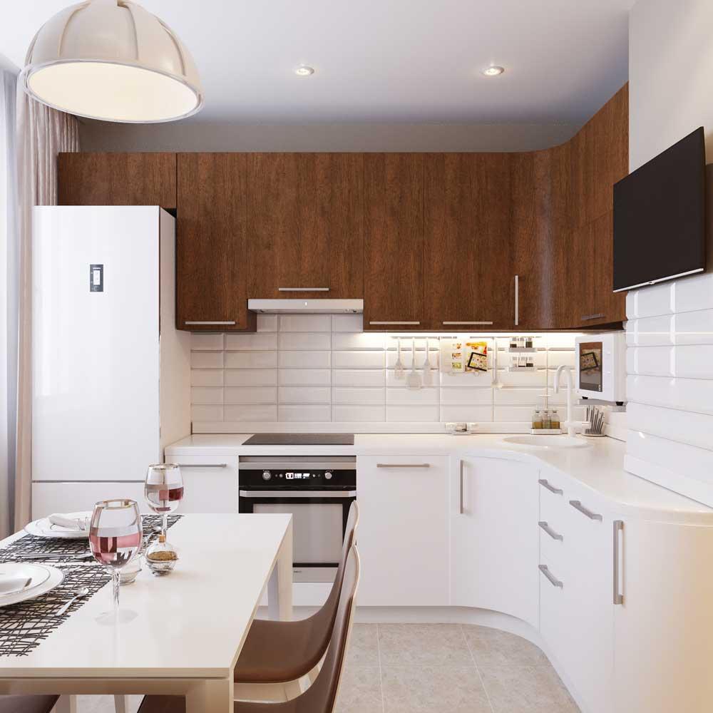 Фото планировок кухонь