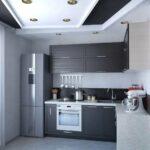 угловой гарнитур с холодильником