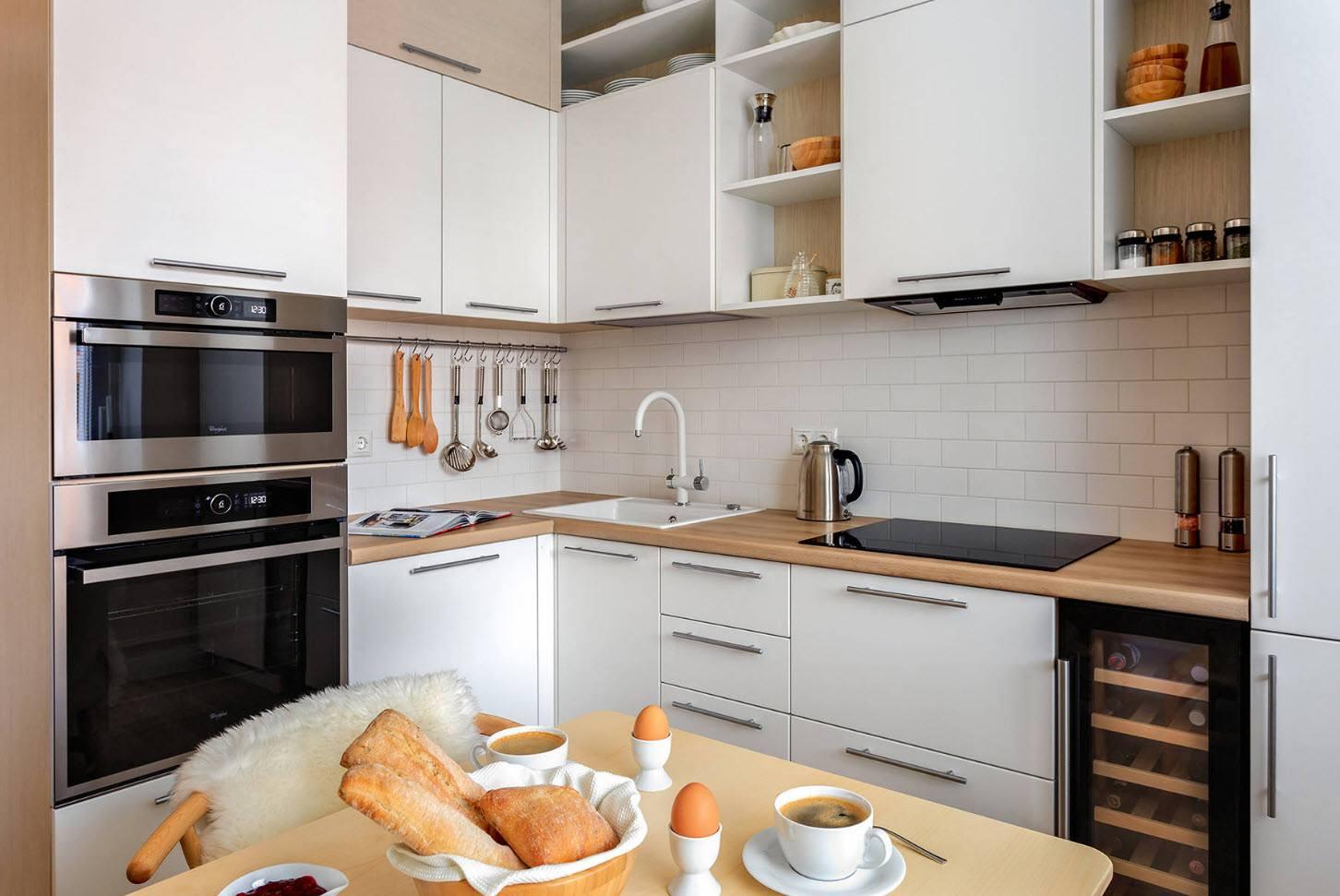 сочетание стиля кухни