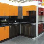 кухня леруа мерлен оранжевая