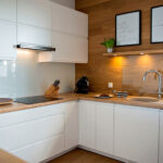 кухня от леруа мерлен белый с коричневым