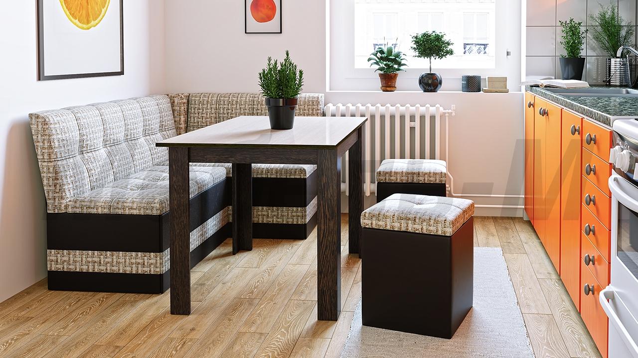 Кухонный диван на кухню с ящиком особенности