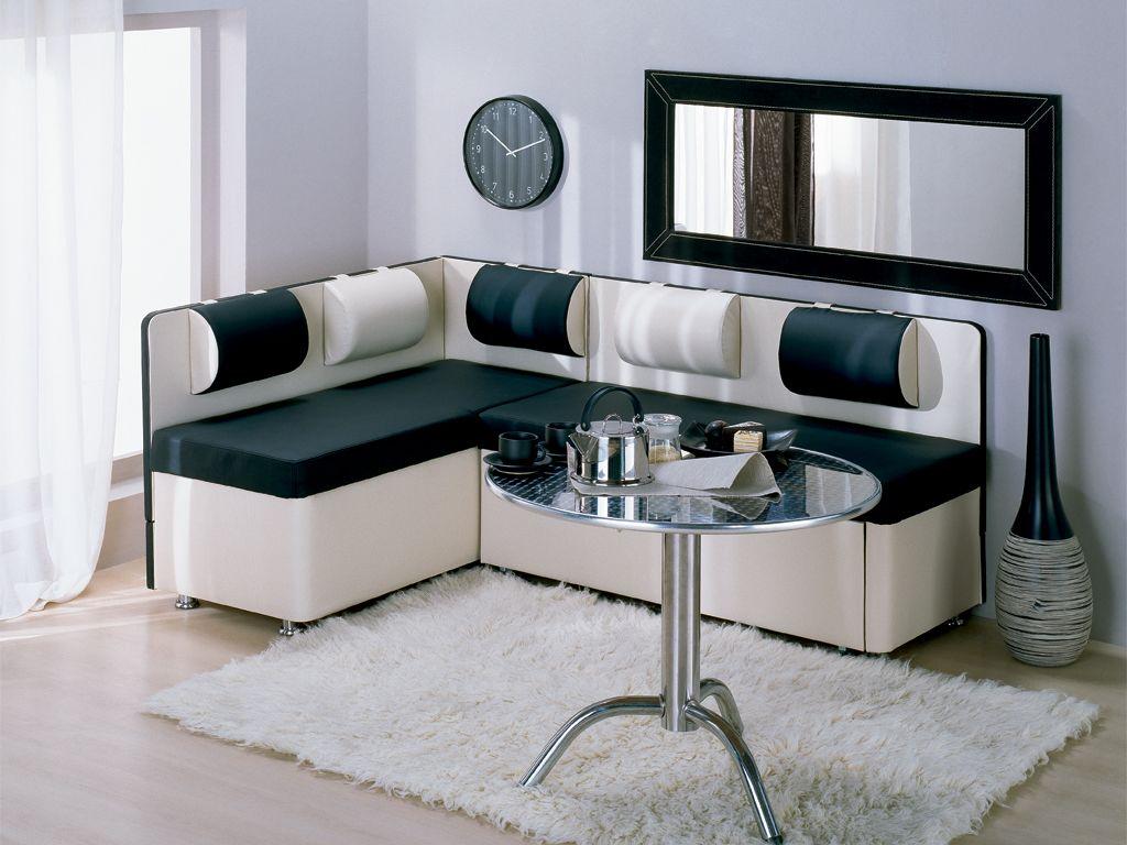 Кухонный диван на кухню с ящиком в студии