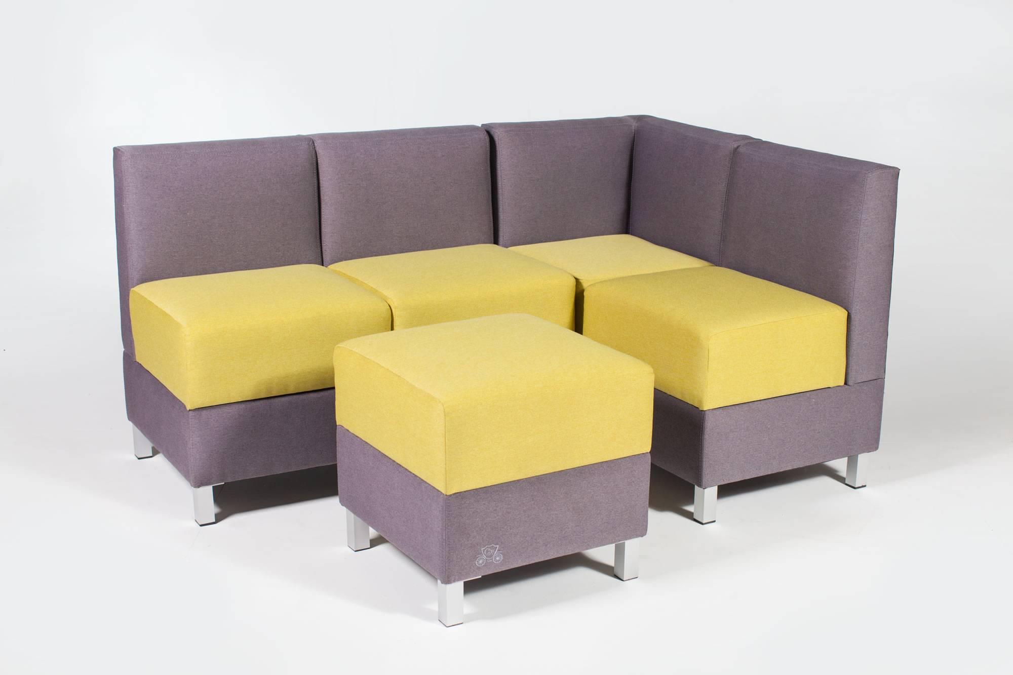 Кухонный диван с ящиками модульный