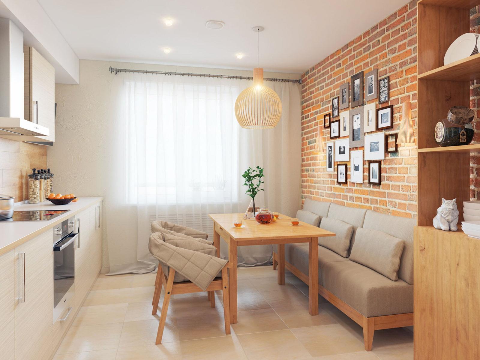 Кухонный диван с ящиками разновидности