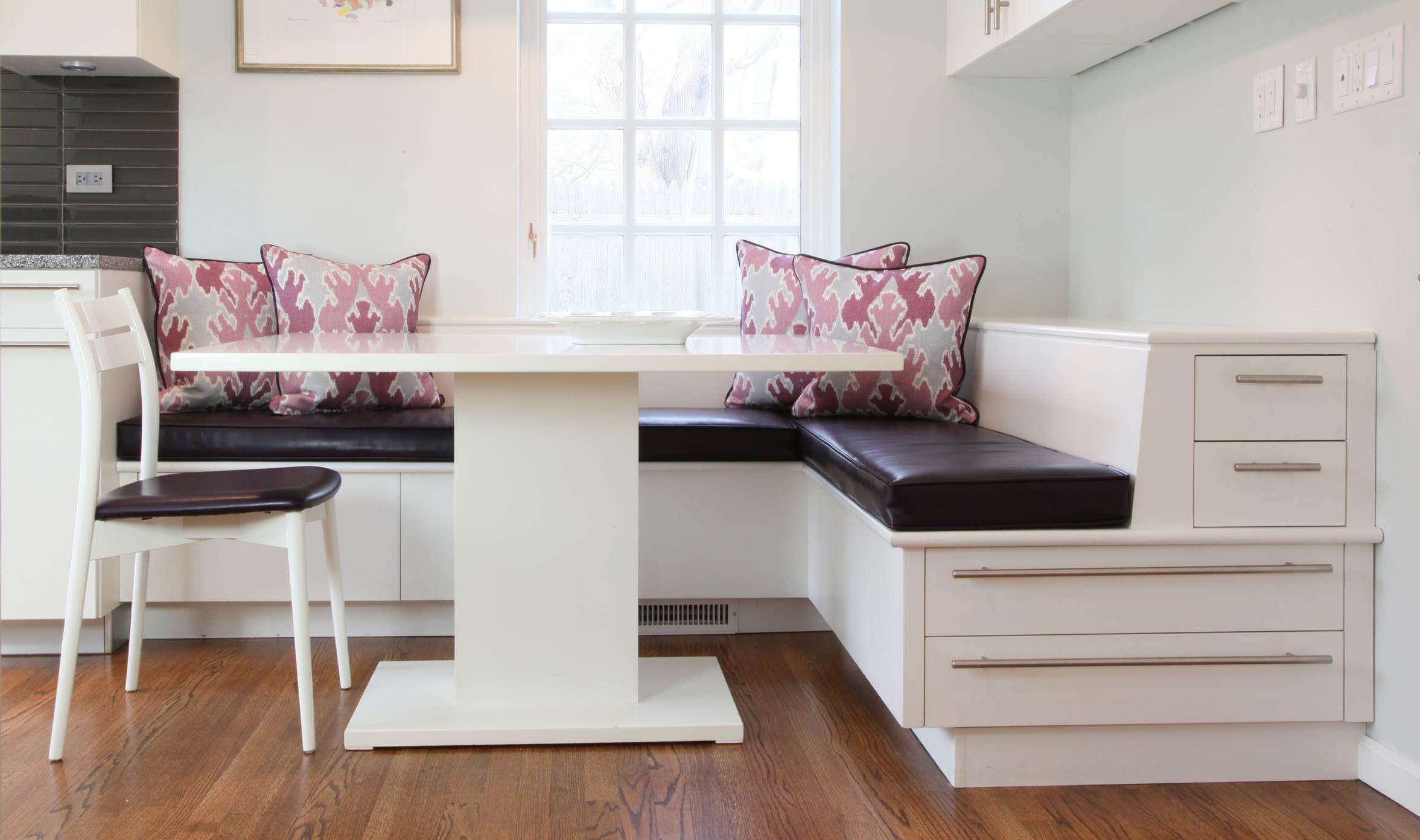 Кухонный диван варианты