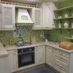 салатовая кухня от леруа мерлен