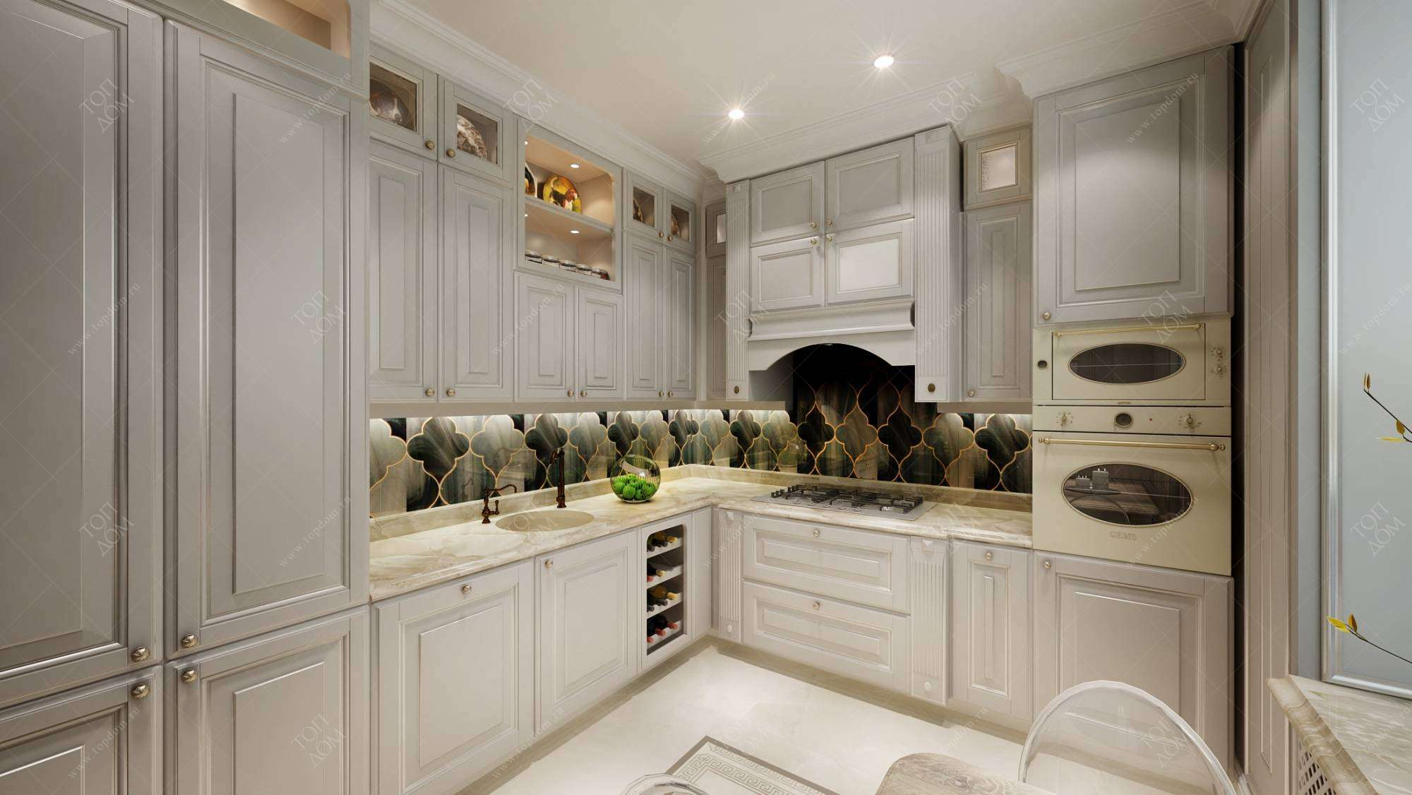черты классического стиля кухни