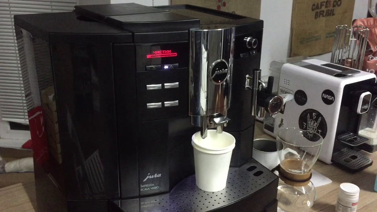 чистка кофемашины своими руками