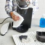 чистка кофеварки