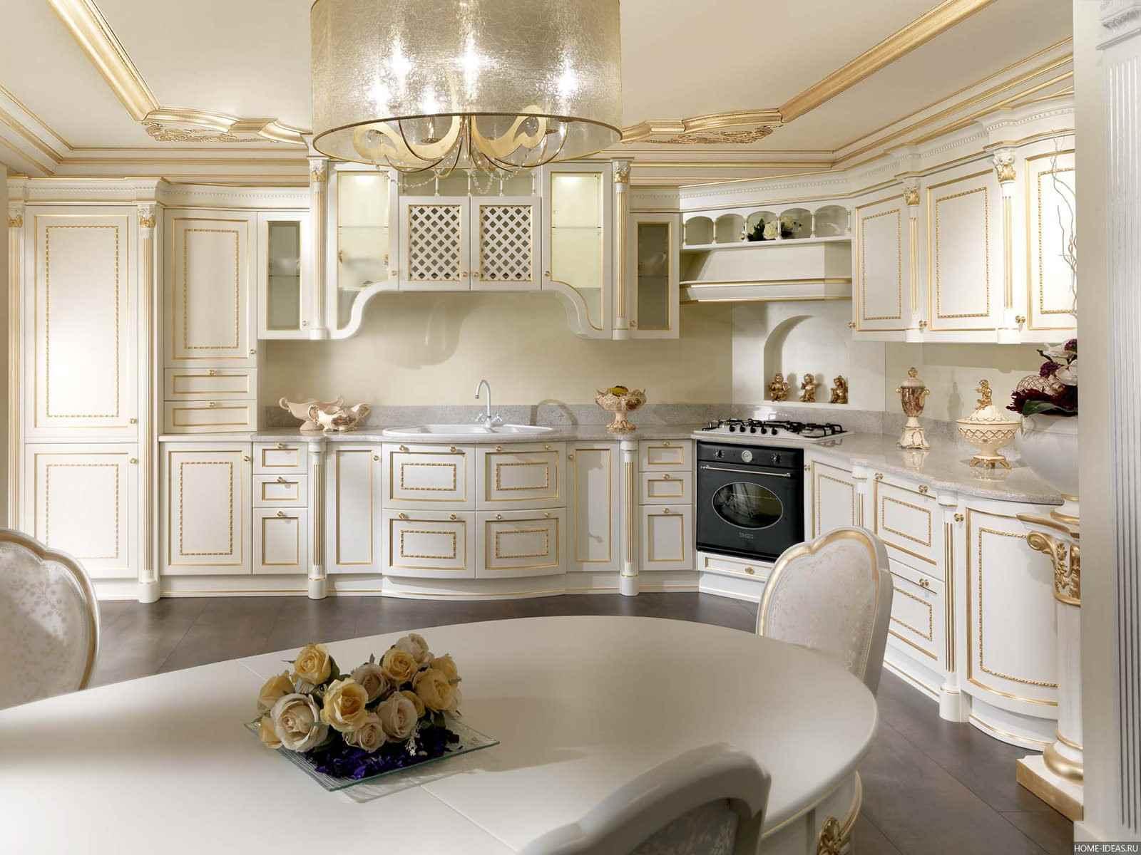 цветовая гамма для классической кухни