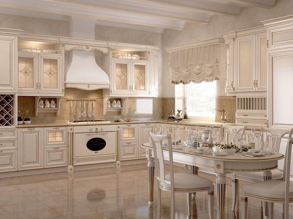 детали классического стиля кухни