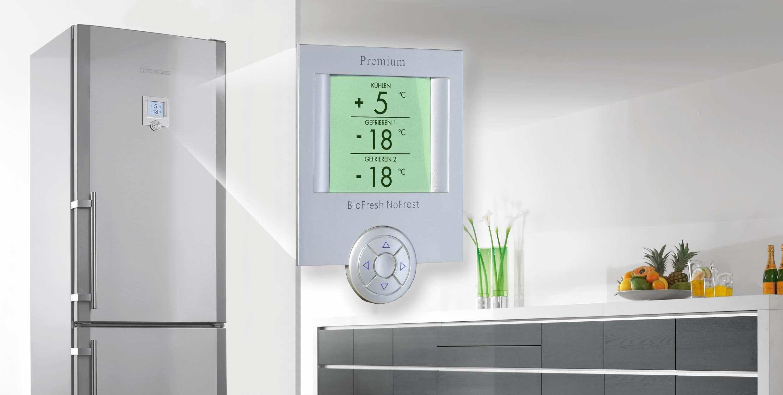 дисплей на холодильнике