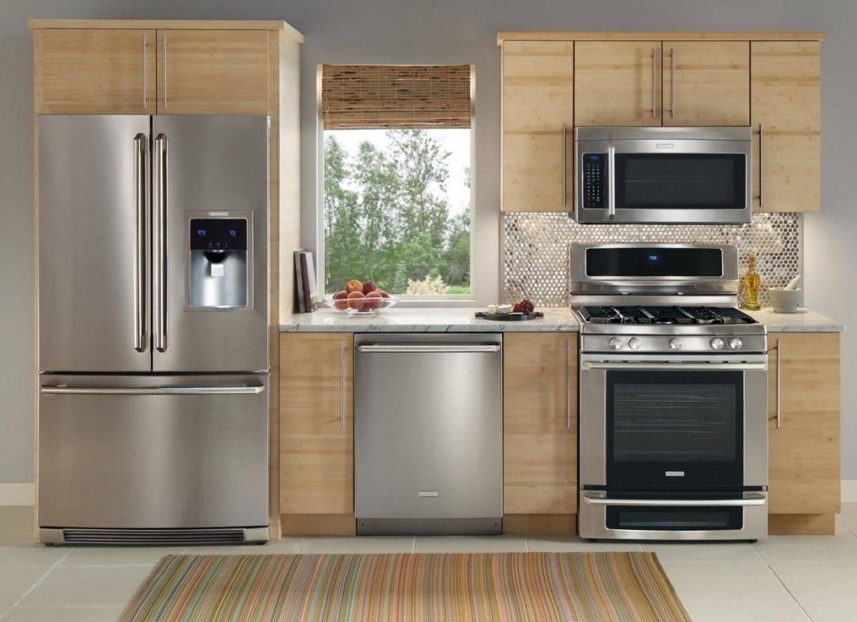 размещение техники в кухне