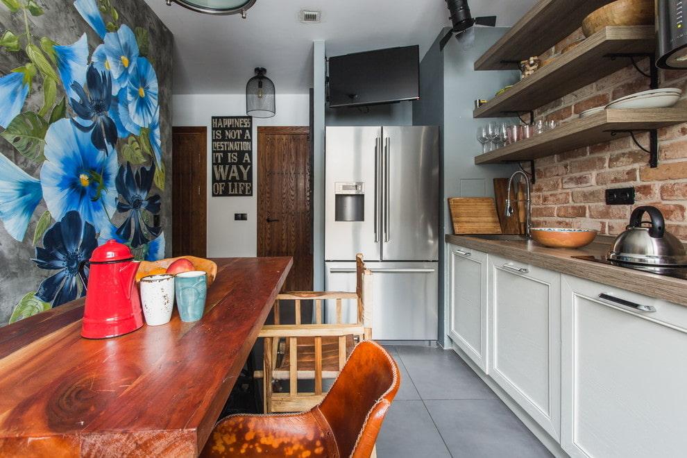 холодильник для дома дизайн фото