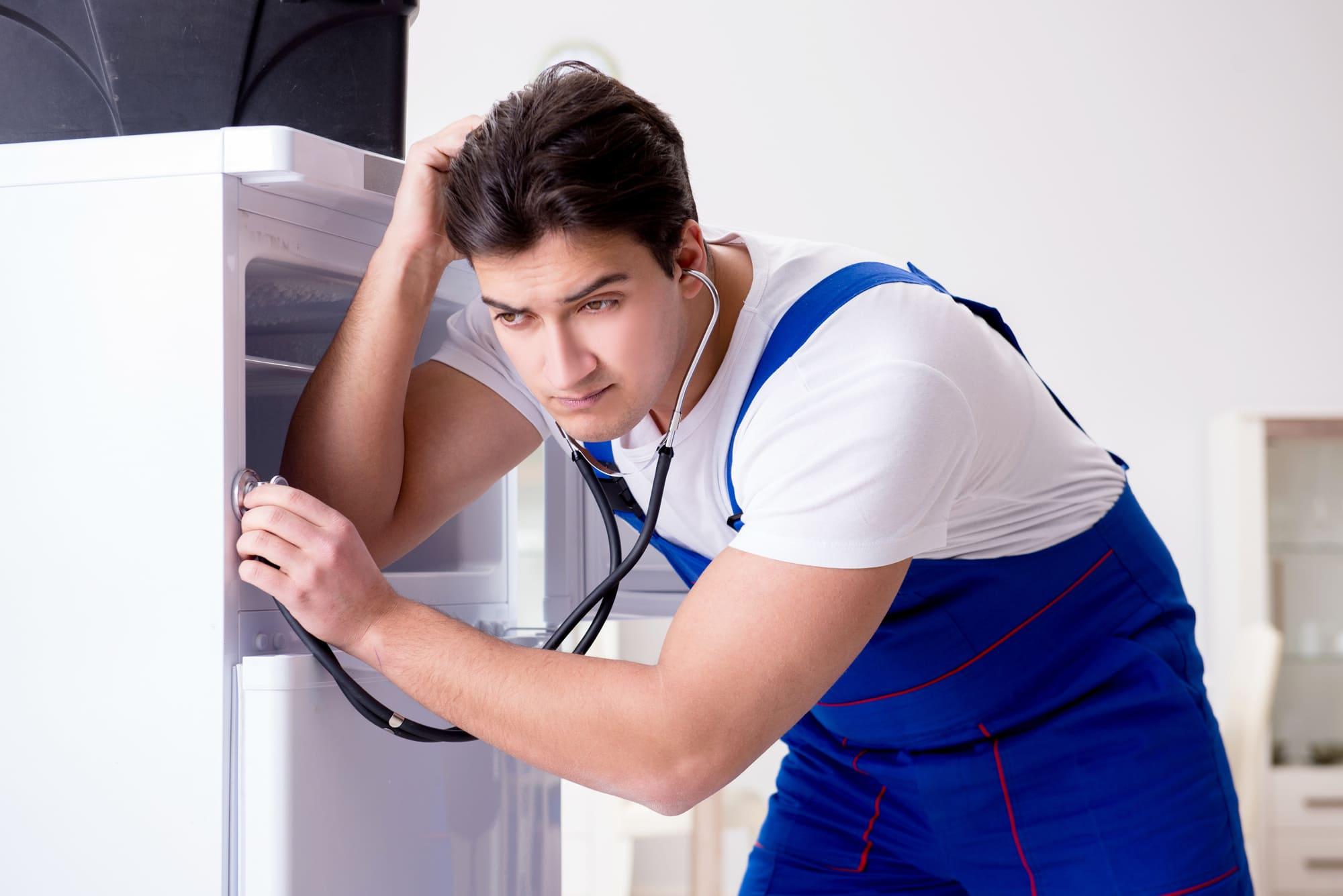 холодильник стал громко работать причины