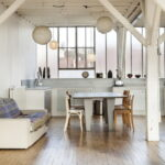 кухня с диваном интерьер фото