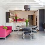 кухня с диваном оформление