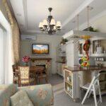 кухня с диваном фото оформление