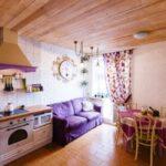 кухня с диваном идеи варианты