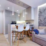 кухня с диваном виды идеи