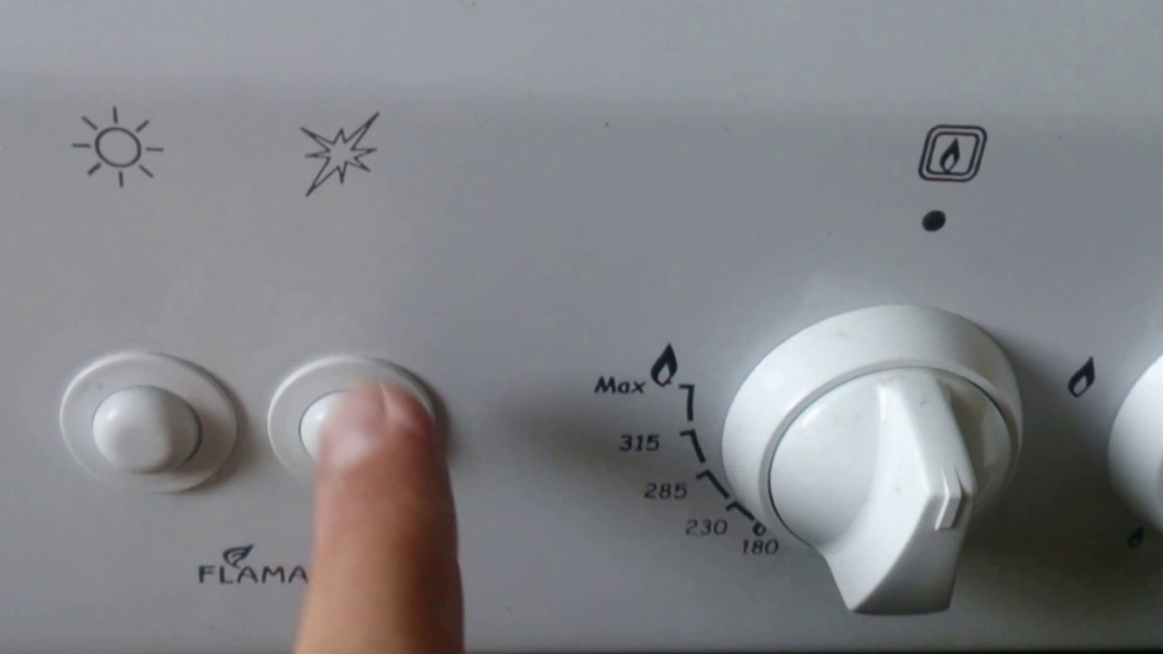 механический и автоматический электроподжиг