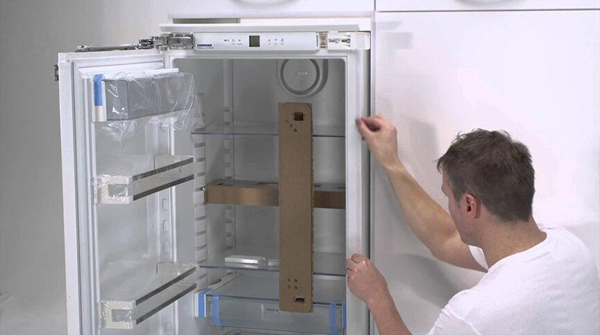 неплотное закрытие дверей холодильника