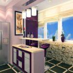 объединение балкона с кухней 16