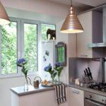 объединение балкона с кухней 28