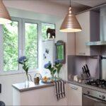 объединение балкона с кухней 9