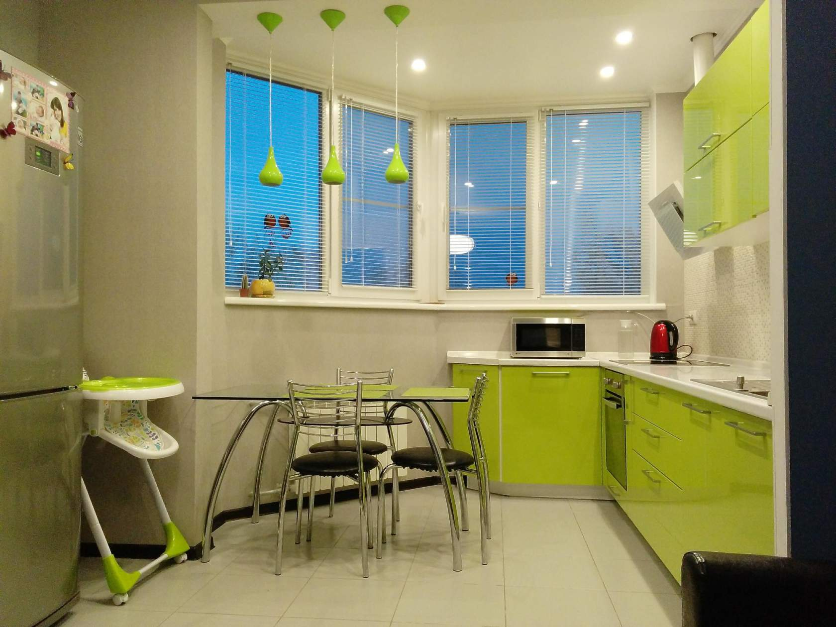 объединения балкона с кухней