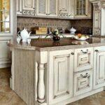 перекраска кухонного гарнитура интерьер фото