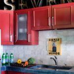 перекраска кухонного гарнитура дизайн идеи