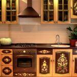 перекраска кухонного гарнитура идеи дизайн