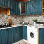 перекраска кухонного гарнитура фото декор