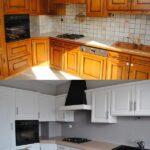 перекраска кухонного гарнитура декор идеи