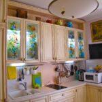 перекраска кухонного гарнитура идеи декор