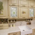 перекраска кухонного гарнитура интерьер