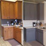 перекраска кухонного гарнитура фото интерьера